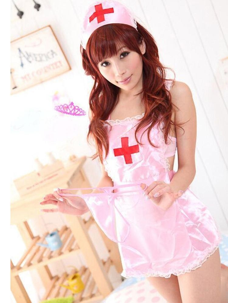 Lingerie Sexy Hot Erotic Sexy Uniform Porn Women Babydoll  Chemises Nurse Cosplay Sexy Costumes Halloween Role Play